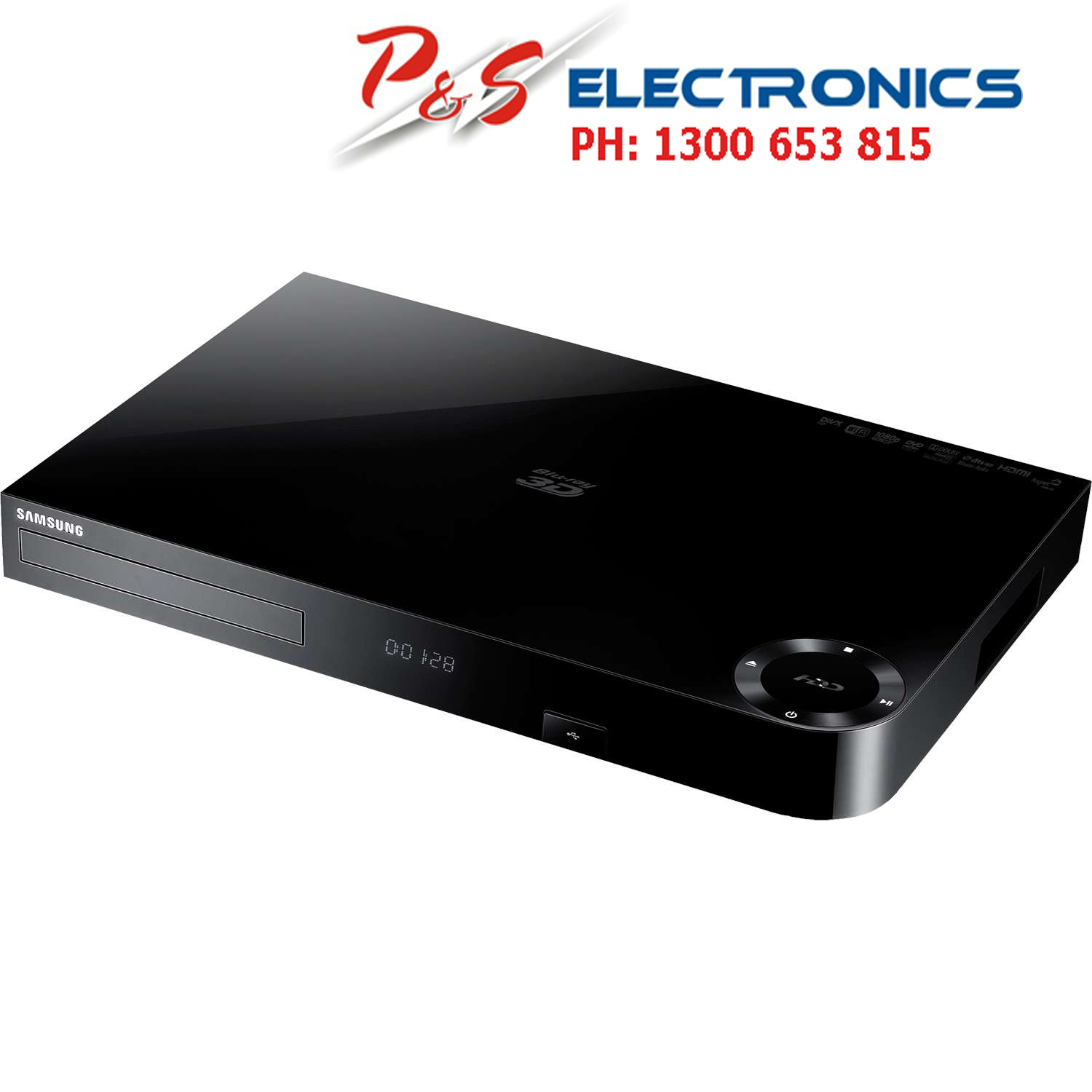 Wonderlijk Samsung 3D Blu-Ray Player/500GB HDD Recorder,Wifi built in_ BD MW-54