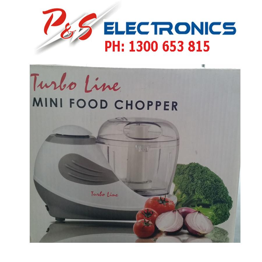 Tiny Kitchen Brands Llc: BRAND NEW TURBOLINE MINI FOOD CHOPPER_MODEL:BFC09