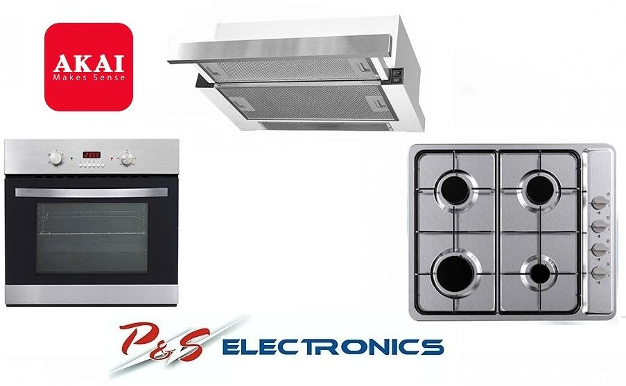 Brand New Akai Kitchen Set 5 Function Oven Gas Cook Top